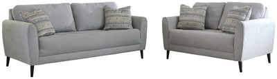 Cardello Signature Design 2-Piece Living Room Set