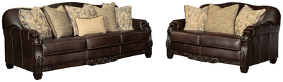 Embrook Signature Design 2-Piece Living Room Set
