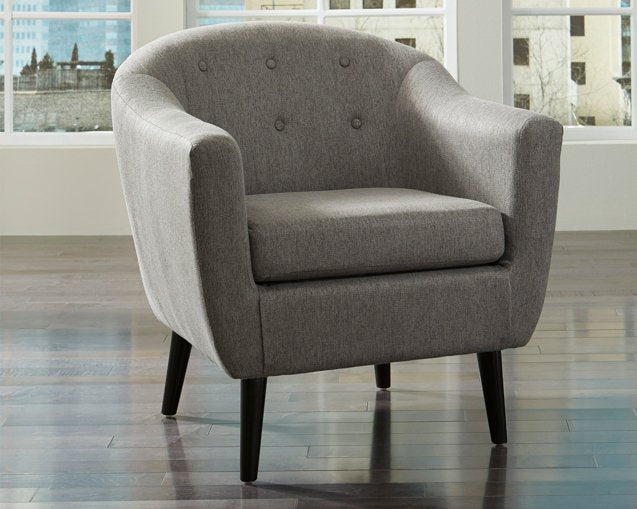 Klorey Signature Design by Ashley Charcoal Chair
