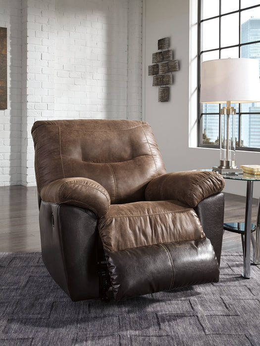 Follett Signature Design by Ashley Coffee Recliner