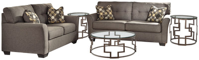 Tibbee Signature Design 5-Piece Living Room Package