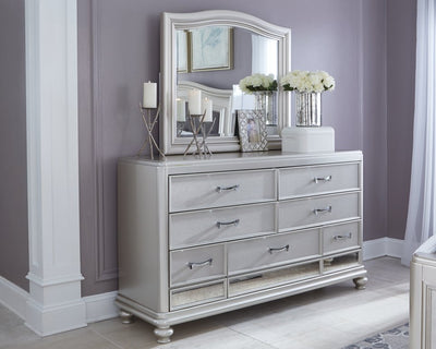 Coralayne Signature Design by Ashley Dresser and Mirror