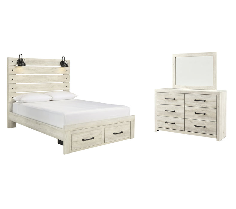 Cambeck Signature Design 5-Piece Bedroom Set with 2 Storage Drawers