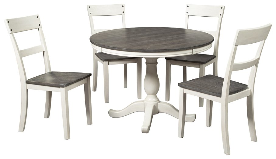 Nelling Signature Design 5-Piece Dining Room Package