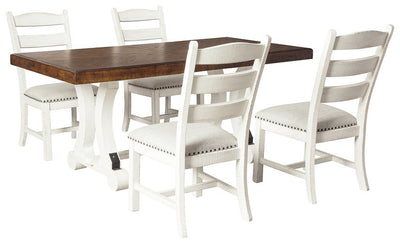 Valebeck Signature Design 5-Piece Dining Room Set