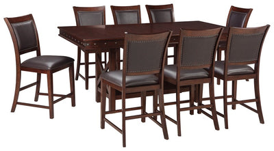 Collenburg Signature Design 9-Piece Counter Height Dining Room Package