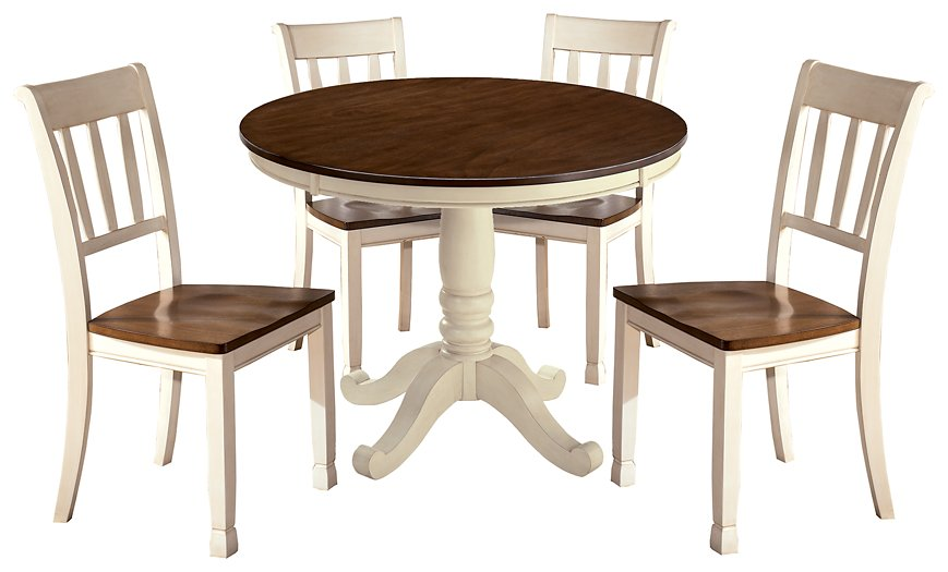Whitesburg Signature Design 5-Piece Dining Room Set