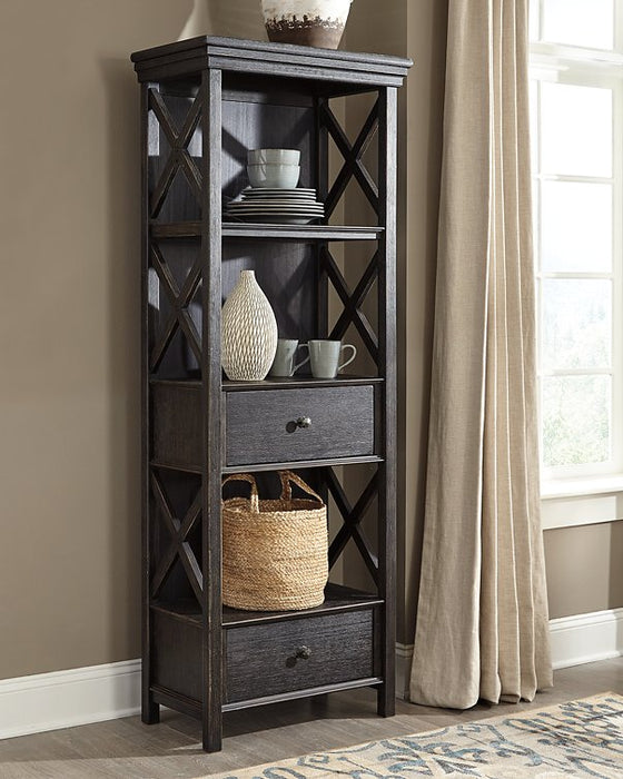 Tyler Creek Signature Design by Ashley BlackGray Display Cabinet