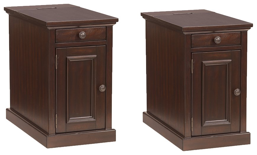 Laflorn Sable Signature Design 2-Piece End Table Set