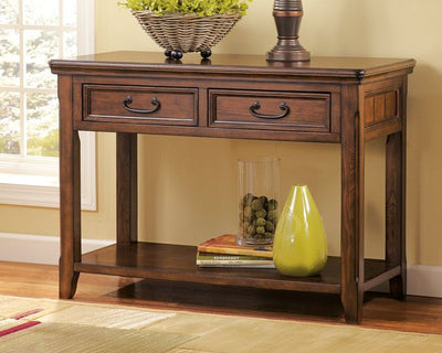 Woodboro Signature Design by Ashley Sofa Table