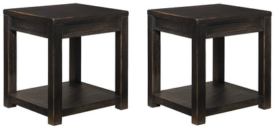 Gavelston Signature Design 2-Piece End Table Set