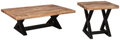 Wesling Signature Design 2-Piece Table Set