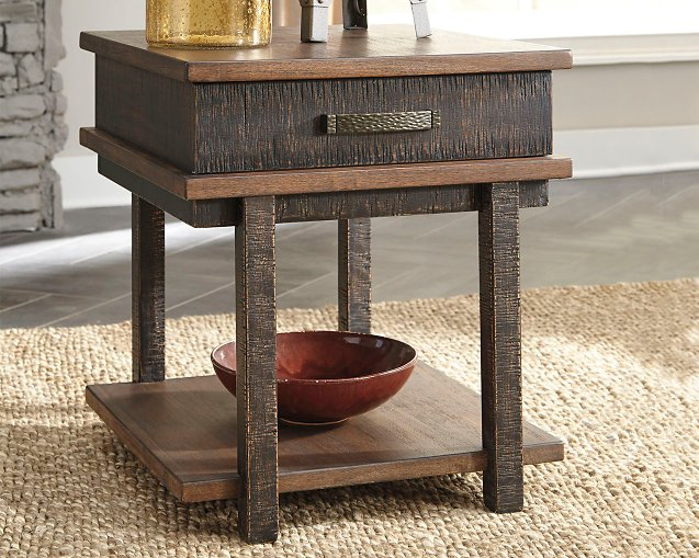 Stanah Signature Design by Ashley Two-tone End Table