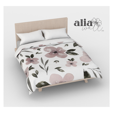 Load image into Gallery viewer, Floral Duvet Cover