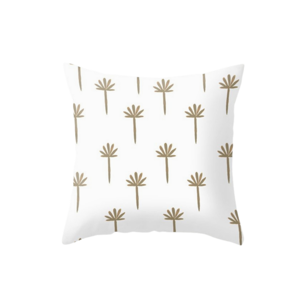 GOLDIE Throw Pillow 22x22
