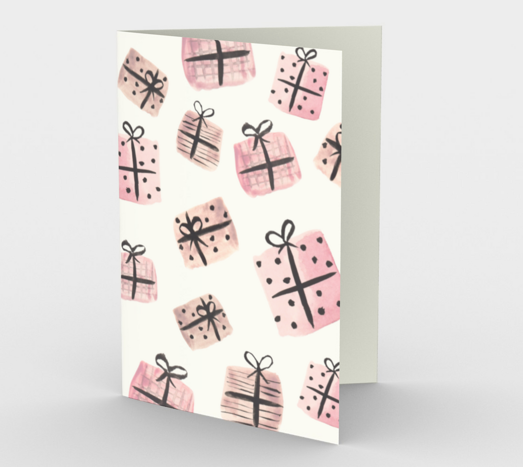 Presents Greeting Card