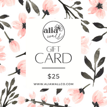 Load image into Gallery viewer, Alia Wall Co. Gift Card