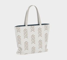 Load image into Gallery viewer, Mudcloth Style Tote Bag