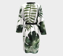 Load image into Gallery viewer, Tropical Green Robe