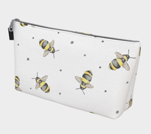 Load image into Gallery viewer, Bumble Bee Makeup Bag