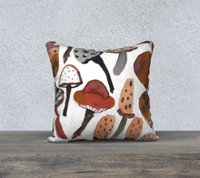 Load image into Gallery viewer, Mushroom Throw Pillow
