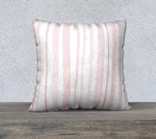 Load image into Gallery viewer, Light Pink Throw Pillow
