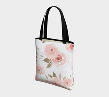 Load image into Gallery viewer, Peachy Floral Tote Bag