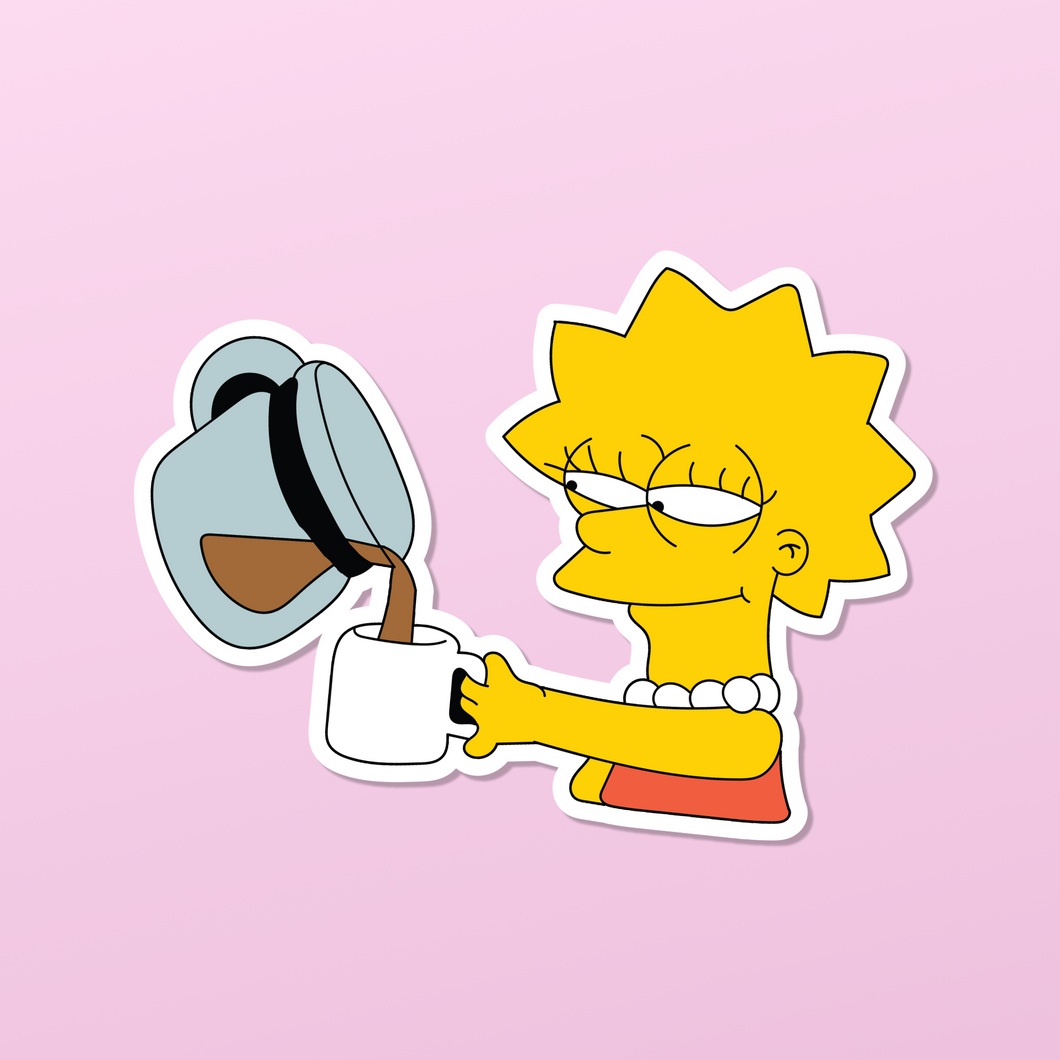 Sticker: More Coffee