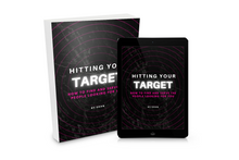 Load image into Gallery viewer, Hitting Your Target: Target Audience Workbook