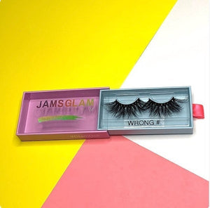WRONG#, 25MM MINK LASHES