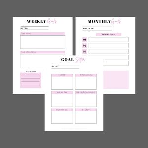 FREE PRODUCTIVITY  PLANNER