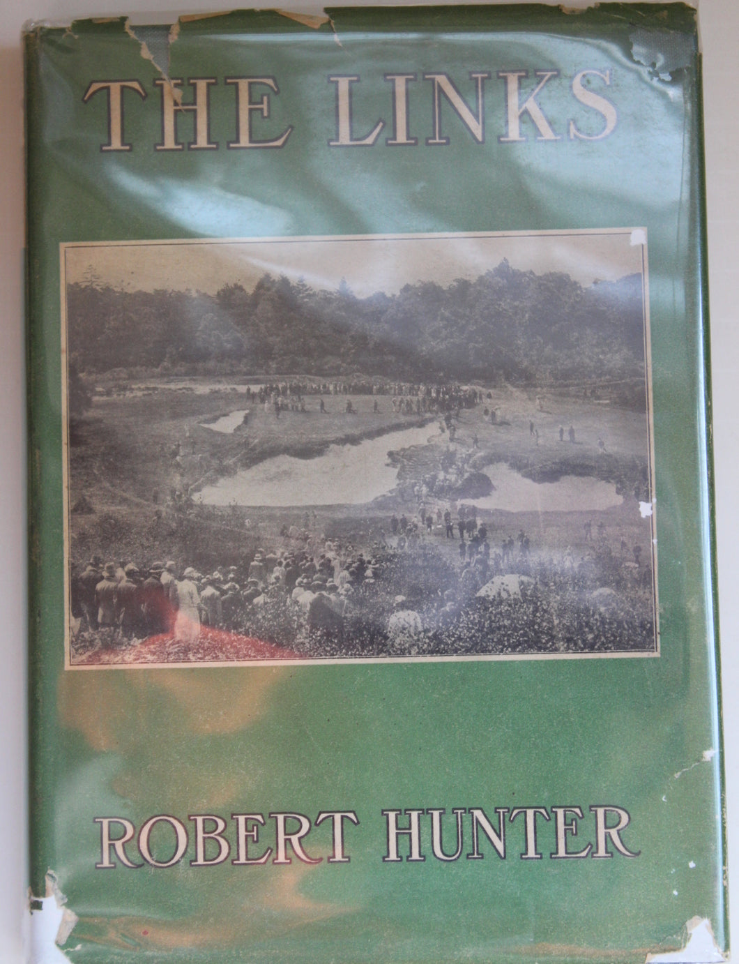 The Links by Robert Hunter with Rare Dust Jacket