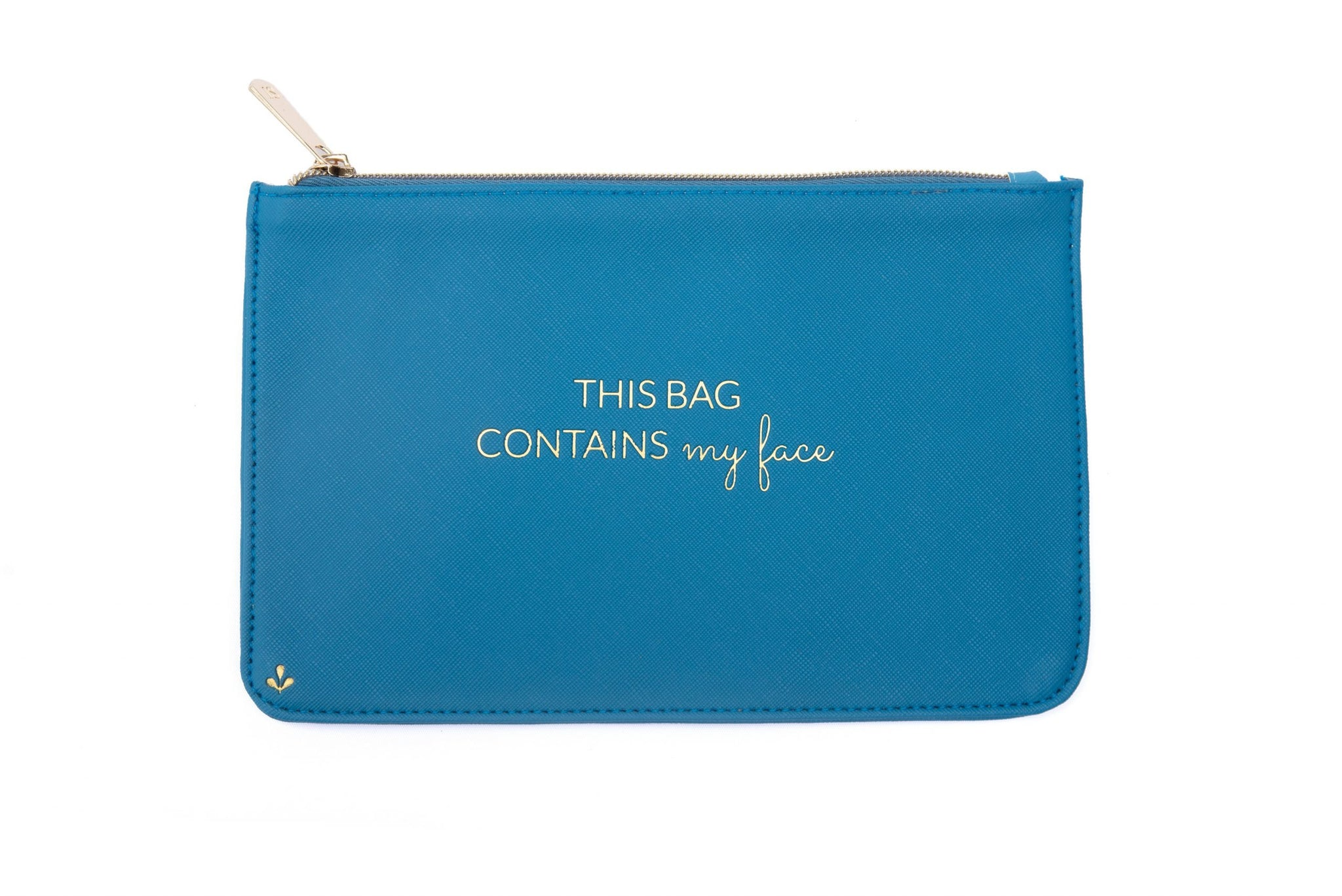 Zipper Pouch Blue