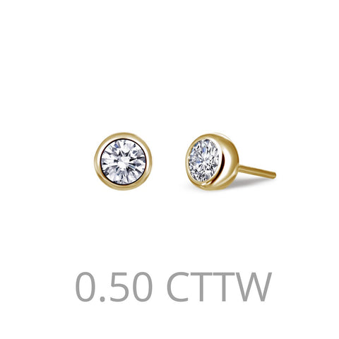 0.5 ct tw Stud Earrings
