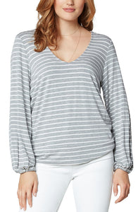 TWIST BACK LONG SLEEVE KNIT