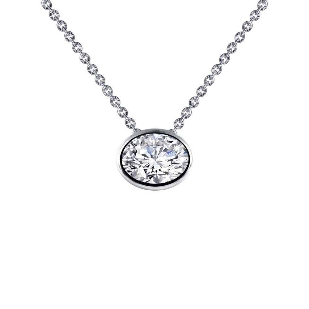 1.46 ct tw Solitaire Necklace