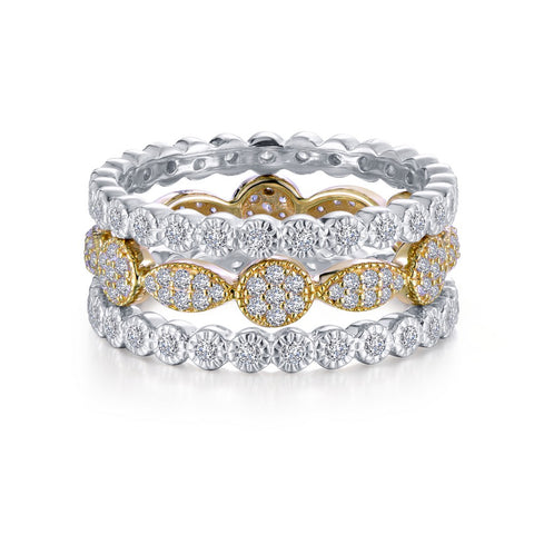 3-Piece Eternity Ring Set
