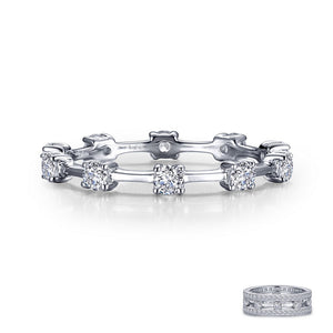 Alternating Eternity Band