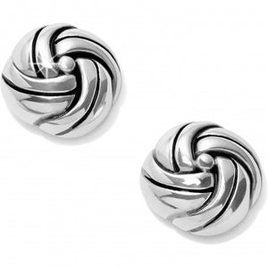 Interlok Knot Post Earrings