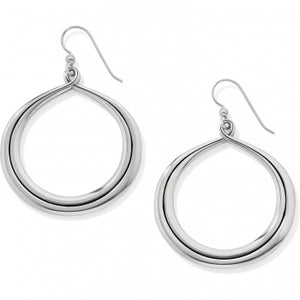 Interlok Circle French Wire Earrings