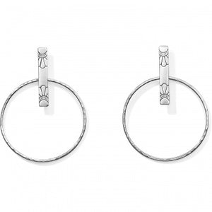 Marrakesh Soleil Post Hoop Earrings