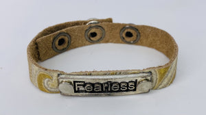 Fearless Leather Bracelet