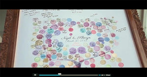 ONCEUPONAPAPER GUESTBOOK REAL WEDDINGS - NIGEL & KHERYN