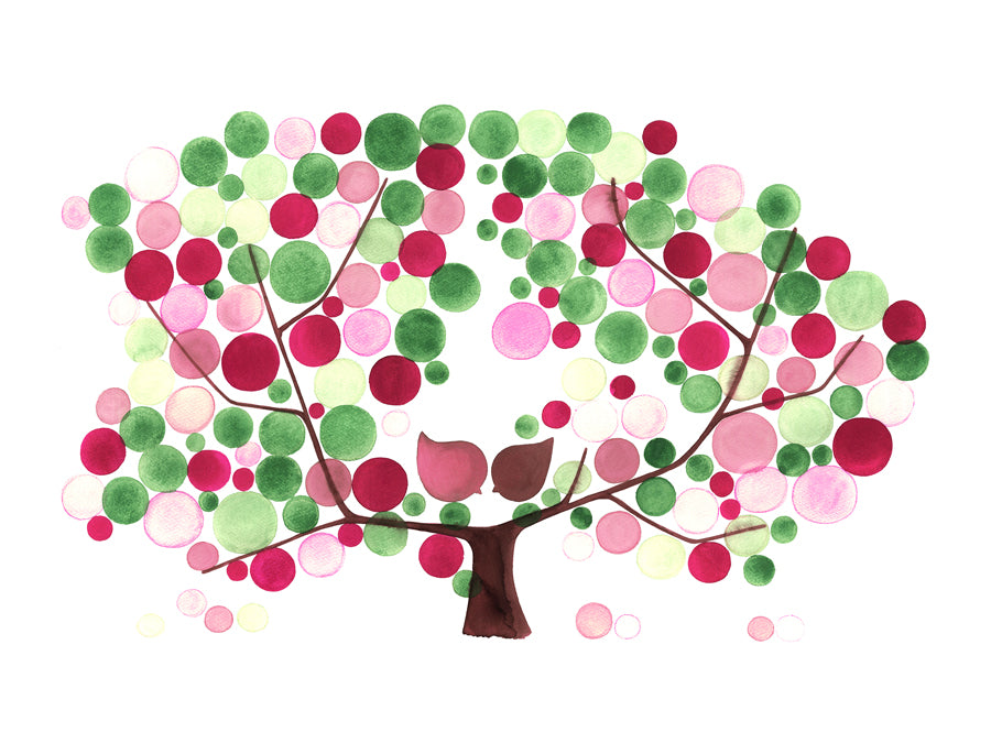 APPLE TREE BLOOM ART PRINT - Reviewed by Grace Kam