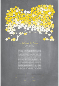 MODERN KETUBAH YELLOW BLUSH - Reviewed by Alexis Roth