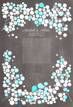Branches Ketubah Art - Reviewed by Alisha Levy