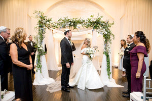 Real Wedding _ Ketubah Tree of Life on Canvas