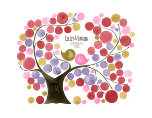 Wedding Guestbook Tree Oval Garden - Reviewed by Cecily Chan