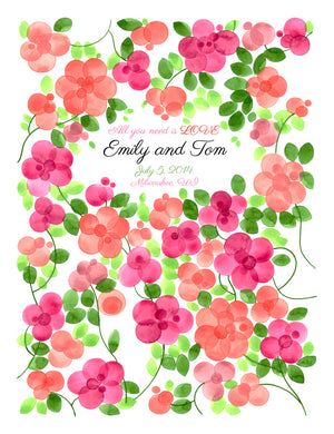 FLOWER GARDEN Guest Book Alternative - Reviewed by Emily Doherty