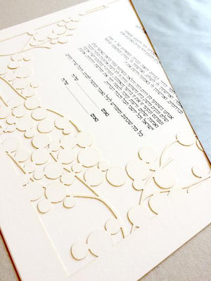 INTRODUCING THE PAPERCUT KETUBAH BRANCHES